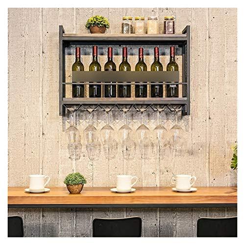 WYFDC Colgando Vino Estante St