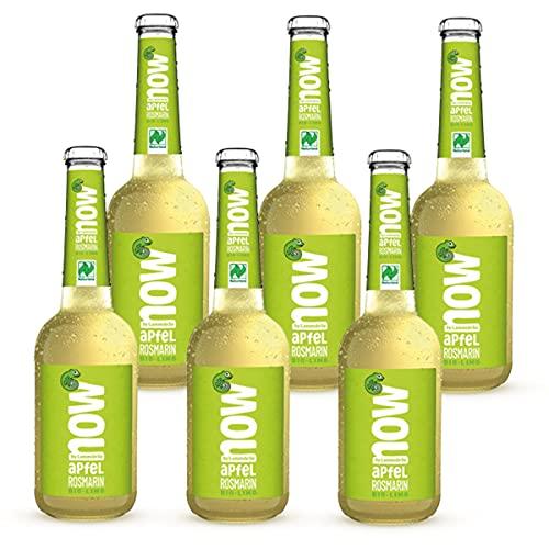 Now Apfel Rosmarin Bio Limonade by Lammsbräu, 6 Flaschen
