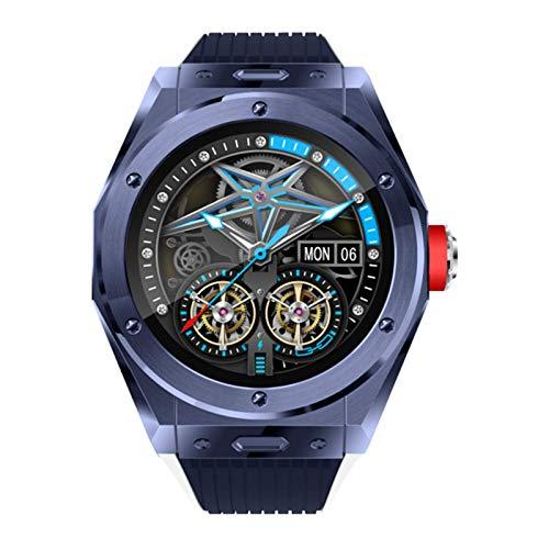 QAK MV58 Smart Watch Sports 5.0 Für Herren Und Damen Musik-Player, Anruf, Bluetooth-Anruf, Herzfrequenz- Und Blutdruck-Smart-Brazdband Für Android iOS,D