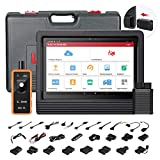 LAUNCH X431 V+ (Upgraded Version of X431 V PRO) Bi-Directional Full Systems Diagnostic Scan Tool 30+ Reset Functions Key Programming, ECU Coding, ABS Bleeding, SAS, DPF, BMS, TPMS Reset 2 Years Update