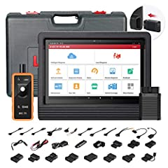【2020 NEWEST VERSION DIAGNOSTIC TOOL+ ADVANCED OE-LEVEL FUNCTIONS】LAUNCH X431 V+ 4.0 scan tool adds loads of OE-Level features as ➤ SCN Coding for Benz (but LAUNCH X431 V PRO NO!!!) ➤Guided Functions ➤Online Coding (compatible with VW, Audi, Skoda, S...