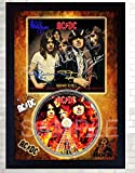 SGH SERVICES ACDC Highway to Hell Music Rock Band Firmado Enmarcado Disco de CD con Foto