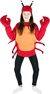 Kids Crab Fancy Dress Costume