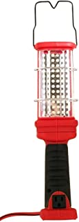 Woods L1923 Designers Edge Handheld Hard Duty Trouble Work Light with Grounded Outlet, 120 V, 120 W, Led Lamp, 72, Red