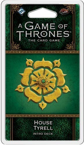 Fantasy Flight Games FFGGT41 House Tyrell Intro Deck: Juego de Tronos, Multicolor
