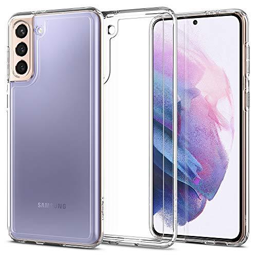 Spigen Cover Ultra Hybrid Compatibile con Samsung Galaxy S21 Plus 5G - Crystal clear