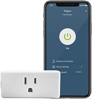 Leviton D215P-2RW Decora Smart Wi-Fi Mini Plug-In Switch (2nd Gen), Works with Hey Google, Alexa, Apple HomeKit/Siri, and ...