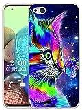 Sunrive Hülle Kompatibel mit ZTE Nubia Z9 Max Silikon, Transparent Handyhülle Schutzhülle Etui Hülle (X Katze 1)+Gratis Universal Eingabestift MEHRWEG