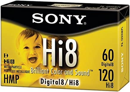 Sony 120 minute Hi8 1-Pack (Discontinued by Manufacturer)