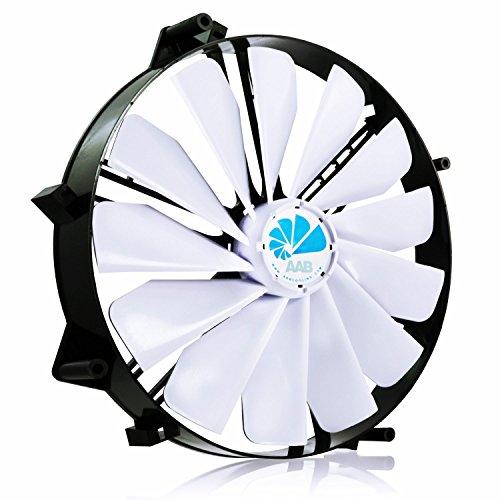 AABCOOLING Super Silent Fan 25 - Un Grande Silencioso y Muy Efectivo Ventilador 218mm, Ventilador Externo Portatil, Fan 22cm, Cooler, 232 m3/h, 800 RPM 14,9 dB