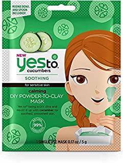 Yes To Cucumbers CALMING DIY POWDER-TO-CLAY MASK