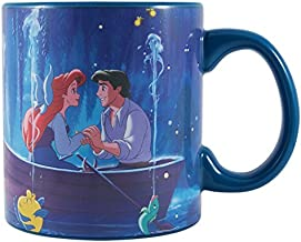 Silver Buffalo DP124834V Disney Princess Ariel Kiss the Girl Heat Reveal Ceramic Mug, 20 oz