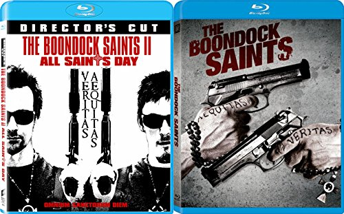 Boondock Saints Blu Ray & The Boondock Saints II: All Saints Day 2 Pack Irish Crime Action Movie Set
