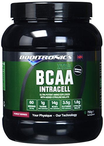 Boditronics BCAA Intracell XTRA 750g Forest Berries Intra Workout and BCAA Powder