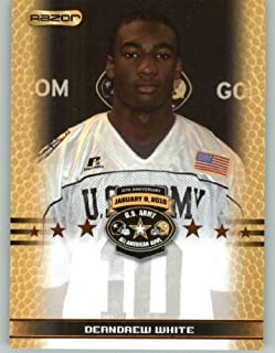 DeAndrew White WR / Alabama - North Shore High School Galena Park TX - 2010 Razor US Army All-American Bowl Promo Football Card (Limited to 800)