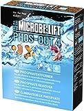 MICROBE-LIFT Phos-out 4 Medio Filtrante - Eliminador de Fosfatos para Acuarios de Agua Dulce y Salada, Elimina Fosfatos, Silicatos, Sulfuros y Compuestos Cromóforos, Base de Hidróxido de Hierro
