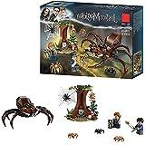YK GAME Set di Harry Potter Aragog Spider Toy Wizard World Gift Giocattoli educativi per l'illuminazione dei Bambini,A
