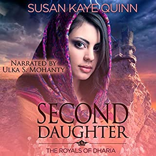 Second Daughter audiobook cover art