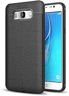 Auto Focus Soft Back Cover Case for Samsung Galaxy J7(2016) : Black