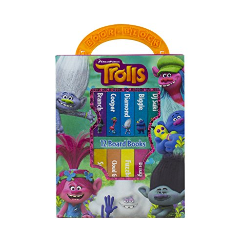 Dreamworks Trolls - My First Library Board Book Block 12-Book Set - PI Kids