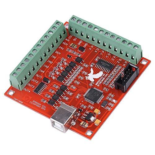MACH3 Controller, USB MACH3 100Khz Motion Controller Card Breakout Board, Controller Card, for CNC Engraving, Servo Motor, Stepper Motor Servo motor