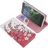 foto-kontor Tasche für Acer Liquid Z6 Book Style Lila