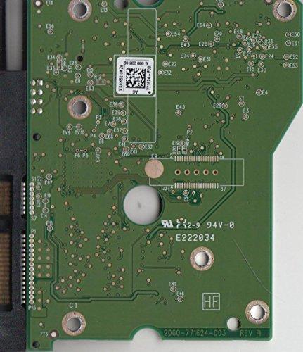 WD2002FAEX-007BA0, 771624-F03 AG, WD SATA 3.5 Leiterplatte (PCB)