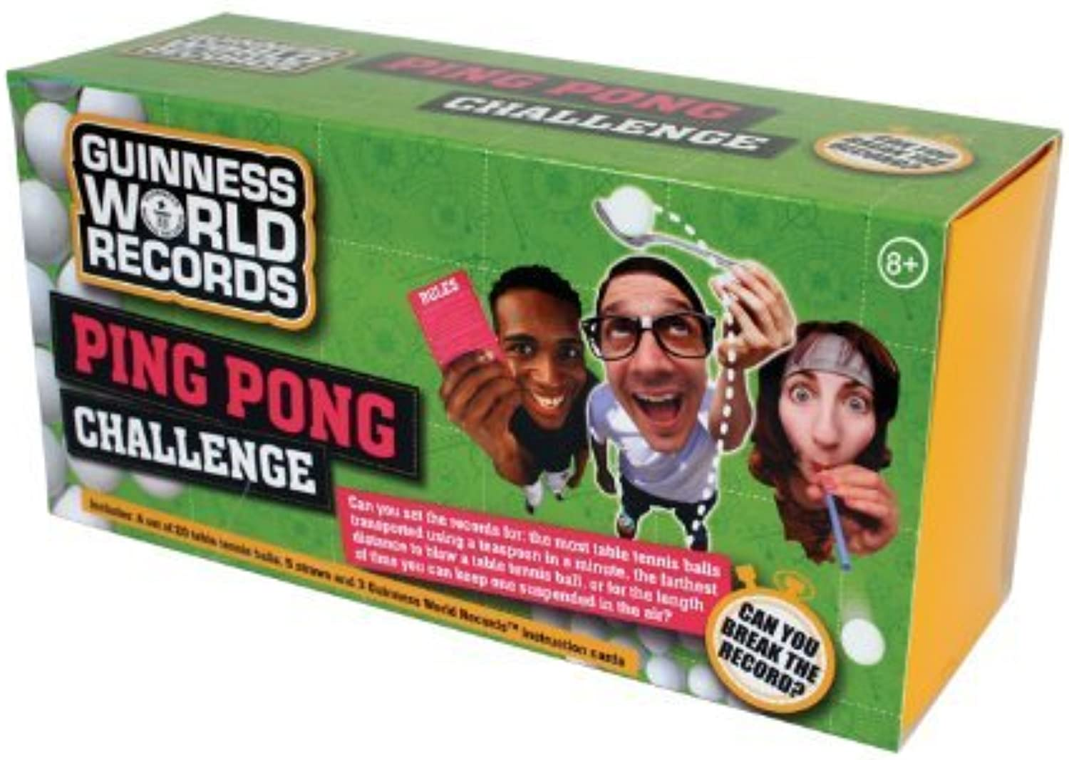 Guinness World Record Ping Pong Challenge by Play Visions