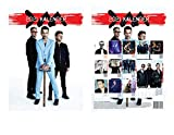 Depeche Mode Calendar 2021 (German Version) with Depeche Mode Fridge Magnet