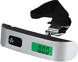50kg/10g Capacity LCD Digital Backlit Electronic Scale Tare Function Weighing LCD Bandage Luggage Scale Weighing