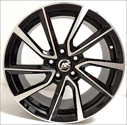 1 AC-518 Llantas de Aleación NAD 6.5 16 5X112 45 66,5 Compatible Con Volkswagen Golf 5 6 7 8 T-Roc Hecho en Italia