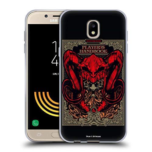 Head Case Designs Offizielle Dungeons & Dragons Handbuch der Spieler Hydro74 Kunstwerk Soft Gel Huelle kompatibel mit Samsung Galaxy J5 (2017)