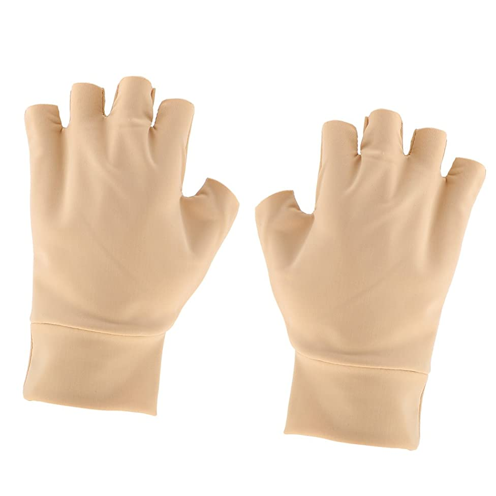 CUTICATE Arthritis Hand Compression Gloves Brace - Fingerless and Breathable - Ease Muscle Tension and Relieve Carpal Tunnel Ache