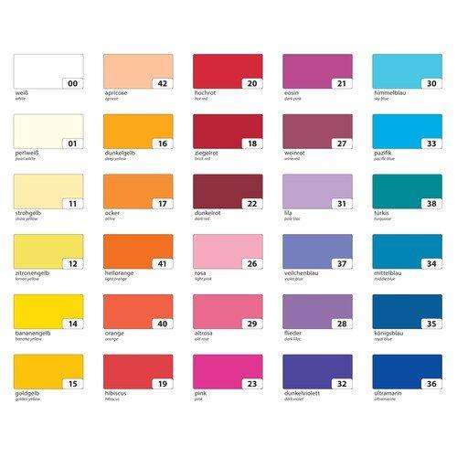 Tonpapier - 50 x 70 cm, 10 Farben sortiert