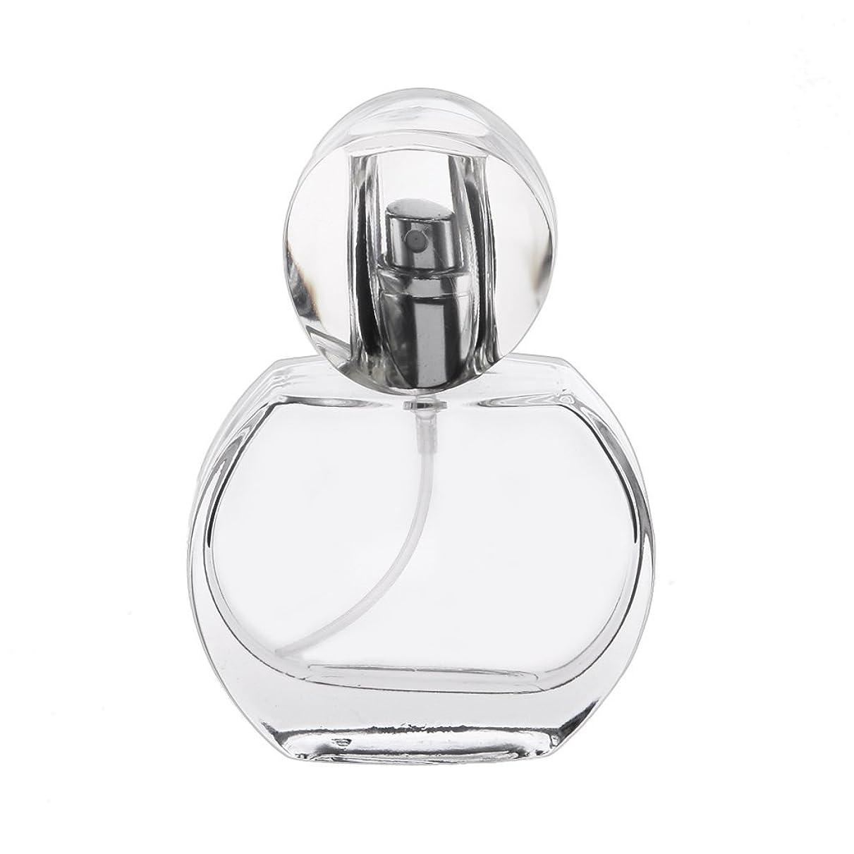 評価する一致レビュアー30ml クリスタル エンプティ 空 香水瓶 スプレーボトル アトマイザー 詰め替え 携帯便利