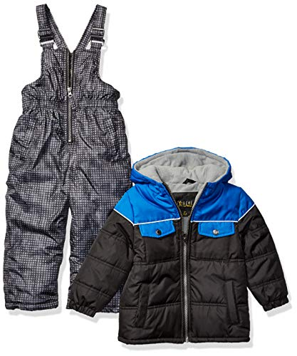 iXtreme Boys' Toddler Snowsuit, Black Camo, 3T