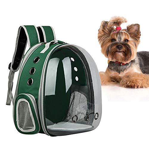Wangkangyi Haustier Rucksäcke Rucksack für Hund und Katze Tragbare und Outdoor Katzenrucksack