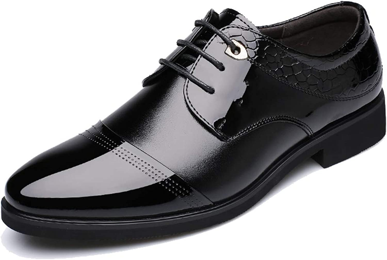 Ganzhoutuxinkejiyouxiangongsi Men's Oxford Fashion Trends Business Dresses Leather shoes Lace-up shoes Men's shoes