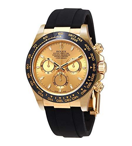Rolex Cosmograph Daytona 18K Yellow Gold Dial Automatic Mens Watch 116518CSR