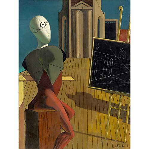 Giorgio de Chirico The Seer Large Wall Art Poster Print Thick Paper 18X24 Inch