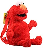 Plüsch-Rucksack Sesamstrasse Schultasche Cartoon Elmo Krümelmonster Big Bird gefüllt Rucksack 46...