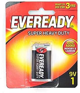 Battery Eveready 9v Super Heavy Duty