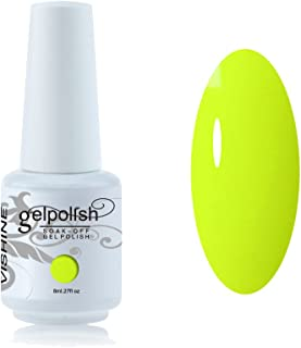 Vishine Vernis à ongles 8ml Semi,permanent Soak,off UV LED Gel Polish  Manucure