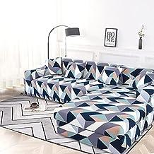 Housse de canapé Extensible élastique, Housse de canapé modulaire d'angle pour Salon, Housse de canapé antidérapante en Fo...