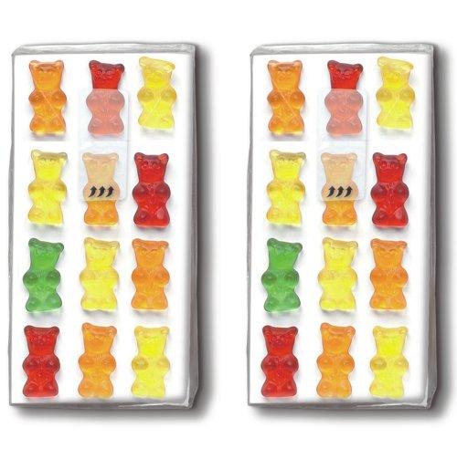 2x 10 Taschentücher Jelly babies – Gummibärchen / Kinder / Motivtaschentücher