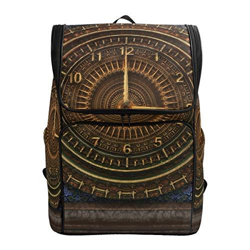 Ahomy Schultasche Vintage Steampunk Wandern Rucksack Cool Sport Rucksack Laptop Tasche Leichter Schulrucksack für Teenager Mädchen Jungen
