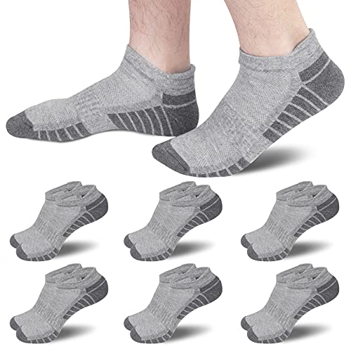6 Pares Calcetines Tobilleros Deporte Hombre Mujer Running Ciclismo Cortos Calcetines Algodón 39-42 43-46