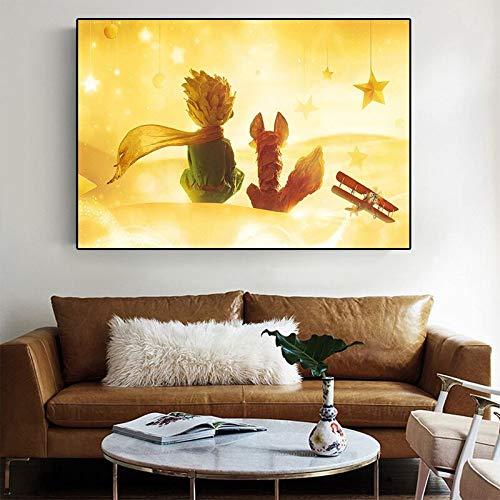 Puzzle 1000 piezas Imagen mural decoración imagen de la película del principito estilo nórdico en Juguetes y juegos Juego de habilidad para toda la familia, colorido juego de ubica50x75cm(20x30inch)
