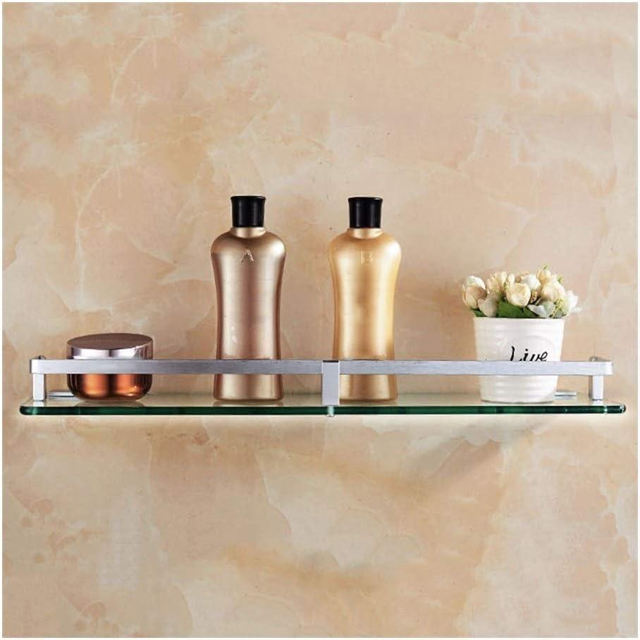 Perportu-min Shower Wall Shelf Rust Proof Sale price Gl Fashionable Waterproof Tempered