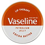 VASELINE LIP BALM TINS - [Cocoa Butter (Brown Tin),12]